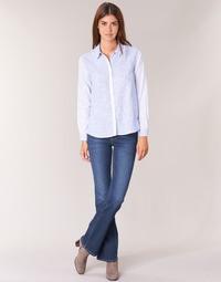 vaatteet Naiset Bootcut-farkut Pepe jeans PIMLICO Blue