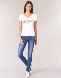 vaatteet Naiset Skinny-farkut Pepe jeans SOHO Blue