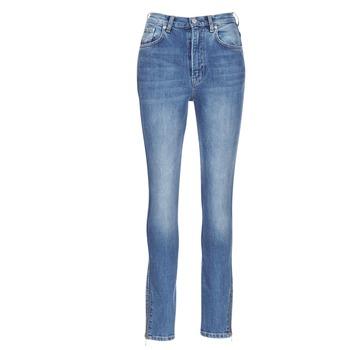 vaatteet Naiset Slim-farkut Pepe jeans GLADIS Blue / Clair
