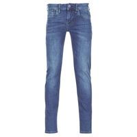 vaatteet Miehet Slim-farkut Pepe jeans HATCH Sininen