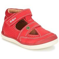 kengät Pojat Sandaalit ja avokkaat Kickers GOODSPEED Red