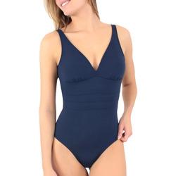 vaatteet Naiset Yksiosainen uimapuku Janine Robin 991015-17 Sininen