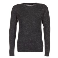 vaatteet Miehet Neulepusero Jack & Jones GROW ORIGINALS Black