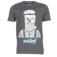 vaatteet Miehet Lyhythihainen t-paita Jack & Jones CRIPTIC ORIGINALS Grey