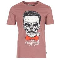 vaatteet Miehet Lyhythihainen t-paita Jack & Jones CRIPTIC ORIGINALS Pink