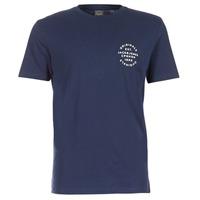 vaatteet Miehet Lyhythihainen t-paita Jack & Jones ORGANIC ORIGINALS Laivastonsininen