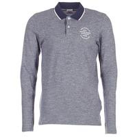 vaatteet Miehet Pitkähihainen poolopaita Jack & Jones CYMBAL ORIGINALS Grey