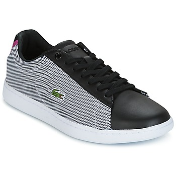 kengät Naiset Matalavartiset tennarit Lacoste CARNABY EVO 117 1 SPW Black