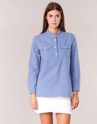 vaatteet Naiset Paitapusero / Kauluspaita Armor Lux GRICHA Blue