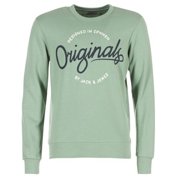 vaatteet Miehet Svetari Jack & Jones SWEEP ORIGINALS Green