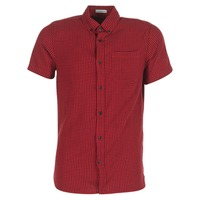 vaatteet Miehet Lyhythihainen paitapusero Jack & Jones JOHAN ORIGINALS Red