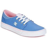kengät Tytöt Matalavartiset tennarit DC Shoes TRASE TX SE Blue / White
