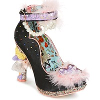 kengät Naiset Korkokengät Irregular Choice ALL ABOUT MOI Musta
