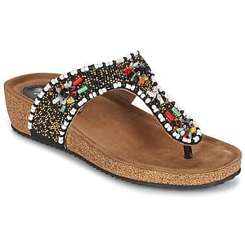 kengät Naiset Sandaalit ja avokkaat Metamorf'Ose ZABUSTE Black / Monivärinen