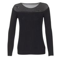 vaatteet Naiset Neulepusero Armani jeans LAMOC Black