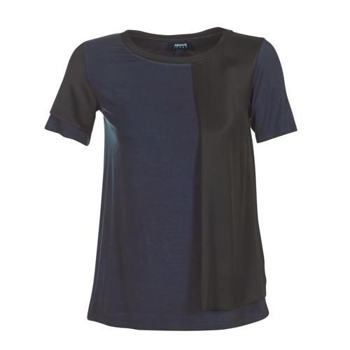 vaatteet Naiset Lyhythihainen t-paita Armani jeans DRANIZ Laivastonsininen / Black
