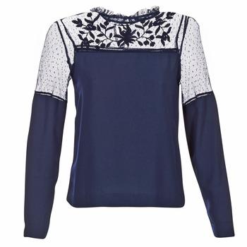 vaatteet Naiset Topit / Puserot Vero Moda JOSEFINE Laivastonsininen