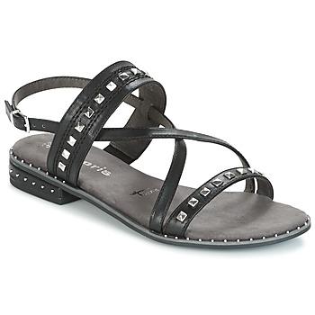 kengät Naiset Sandaalit ja avokkaat Tamaris  Musta