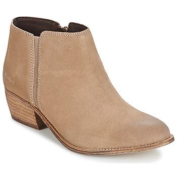 kengät Naiset Nilkkurit Kickers BOOTY BEIGE