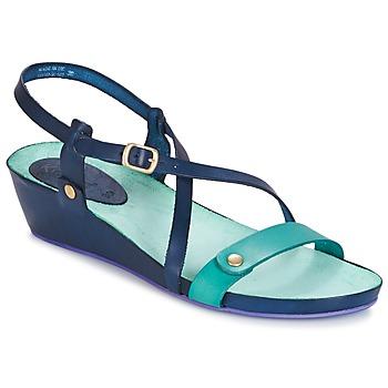 kengät Naiset Sandaalit ja avokkaat Kickers TASTE Laivastonsininen / Blue / Lagoon