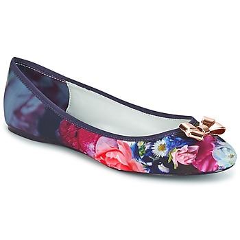 kengät Naiset Balleriinat Ted Baker IMME 2 Sininen