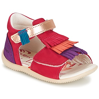 kengät Tytöt Sandaalit ja avokkaat Kickers BIHILANA Fuksia / Orange / Violet