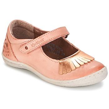 kengät Tytöt Balleriinat Kickers CALYPSO Corail