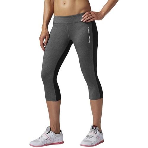 vaatteet Naiset Legginsit Reebok Sport Rcf Chase Capri Grafiitin väriset