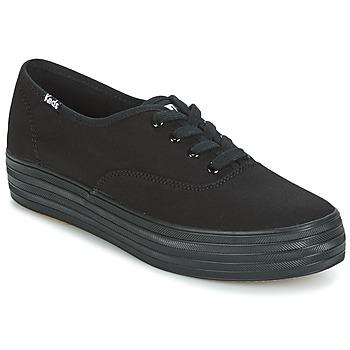 kengät Naiset Matalavartiset tennarit Keds TRIPLE Black
