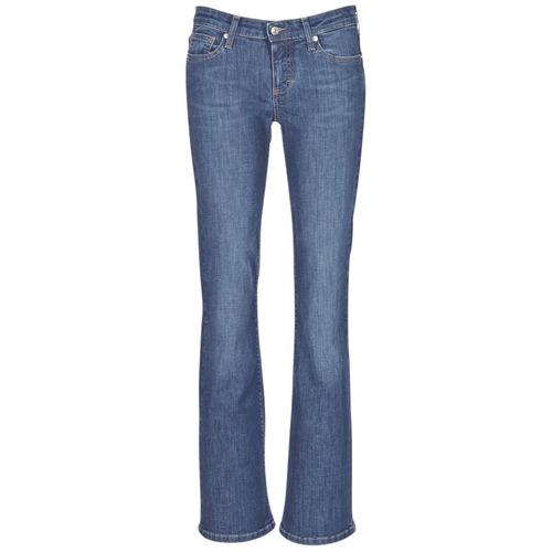 vaatteet Naiset Bootcut-farkut Betty London IHEKIKKOU BOOTCUT Blue