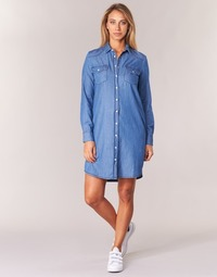 vaatteet Naiset Lyhyt mekko Yurban HEBELLA Blue