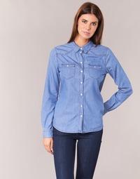 vaatteet Naiset Paitapusero / Kauluspaita Yurban IHEFOU Blue