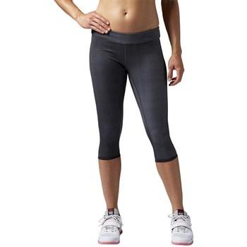 vaatteet Naiset Legginsit Reebok Sport Rcf Reversbl Chase Capri Grafiitin väriset