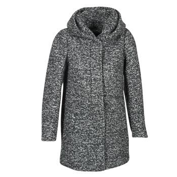 vaatteet Naiset Paksu takki Only INDIE Grey