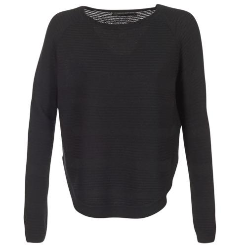 vaatteet Naiset Neulepusero Only CAVIAR Musta