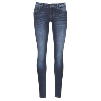 vaatteet Naiset Slim-farkut Only DYLAN Blue / Fonce