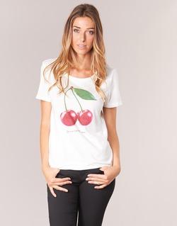 vaatteet Naiset Lyhythihainen t-paita Only MELON White