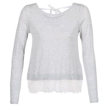vaatteet Naiset Neulepusero Only SHIRLEY Grey