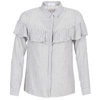 vaatteet Naiset Paitapusero / Kauluspaita Moony Mood HALIS White