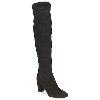 kengät Naiset Ylipolvensaappaat Bocage FLORIAN Black