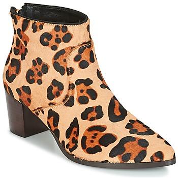 kengät Naiset Nilkkurit Bocage MELODY Leopardi