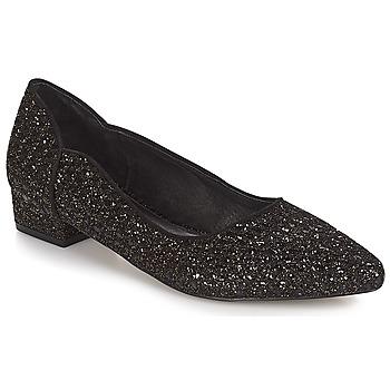 kengät Naiset Balleriinat Ravel  Musta-glitteri