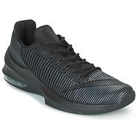 kengät Miehet Koripallokengät Nike AIR MAX INFURIATE 2 LOW Black