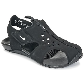 kengät Pojat Sandaalit ja avokkaat Nike SUNRAY PROTECT 2 TODDLER Black / White