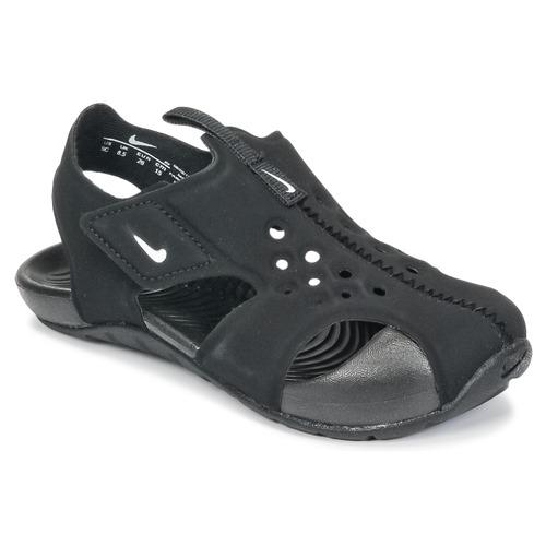 kengät Lapset Sandaalit ja avokkaat Nike SUNRAY PROTECT 2 TODDLER Black / White