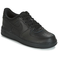 kengät Lapset Matalavartiset tennarit Nike AIR FORCE 1 CADET Black
