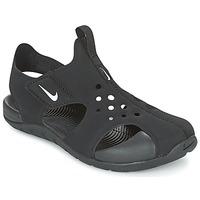 kengät Pojat Sandaalit ja avokkaat Nike SUNRAY PROTECT 2 CADET Black / White