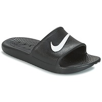 kengät Rantasandaalit Nike KAWA SHOWER SLIDE Black / White