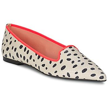 kengät Naiset Balleriinat Pretty Ballerinas MEIJI ECRU