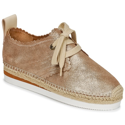 kengät Naiset Espadrillot See by Chloé SB30222 Kulta
